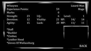 Mystical Justice SE Enemy Profile (Wllasyws)