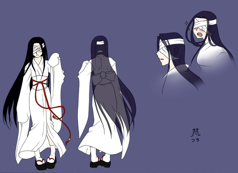 Fuu reference sheet by mizuchii