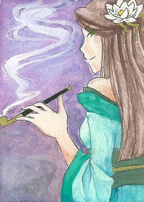 Female Samurai by mizuchii