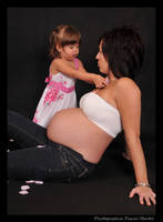 maternity Julie and Daphnee 2 by PascalMartel