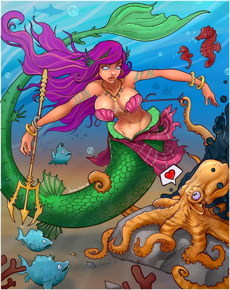 Aquatic Romance by Josiahj