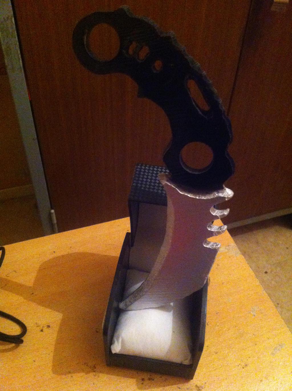 knife karambit from splinter cell blacklist by cpt r fisher - Splinter Cell Halloween Costume