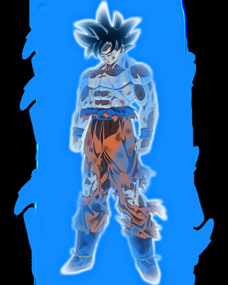 Limit Breaker/Ultra Instinct Goku (again) by blackflim on ...