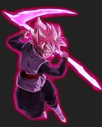 Super Saiyan Rose Goku Black (alt colors) by blackflim