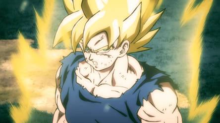 SSJ Goku screen (with color)