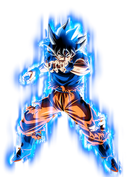 Ultra Instinct Goku -Sign- w/ Aura