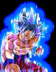 Ultra Instinct Goku w/ Aura