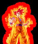 SSG Goku w/ Aura