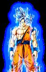 UI Goku Manga w/ Aura