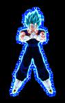 Super Saiyan Blue Vegito w/ Aura
