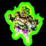 PUR Full Power Super Saiyan Broly w/ Aura