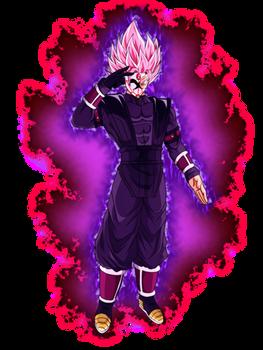 Super Saiyan Rose 2 Crimson Masked Saiyan w/ Aura