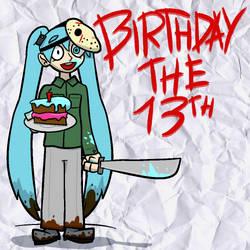 Happy 13th Birthday, Miku!
