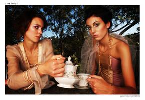 :: tea party :: by Jazer