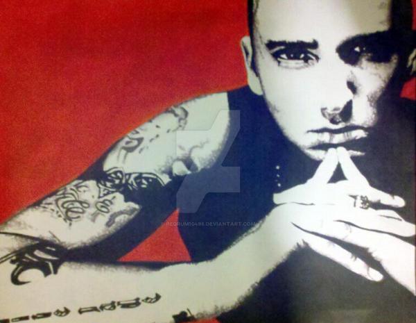 Eminem by redrum10498