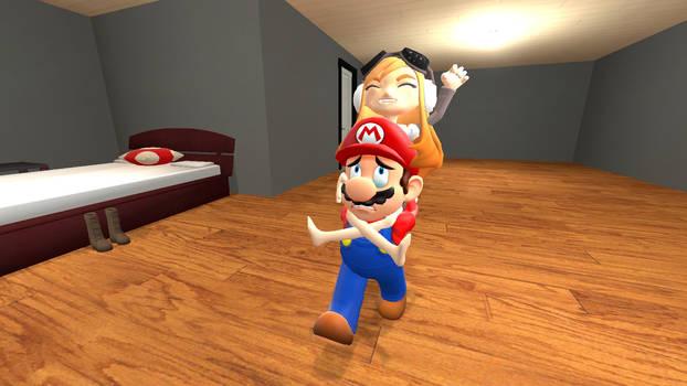 Mario and Meggy: Ride em Cowboy!