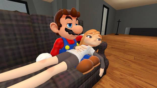 Mario and Meggy: Movie Night