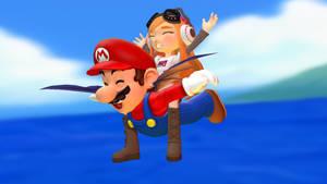 Mario and Meggy: Italian Boi has wings!