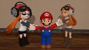 Two Meggys, One Mario