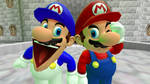 If Mario And SMG4 Swapped Personalities by RicoGamerBoi