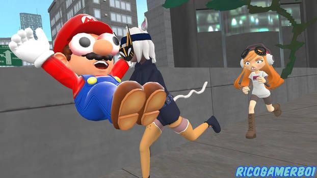 Whisk Kidnaps Mario