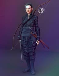 sword maid  Ken no josei by Rowoss