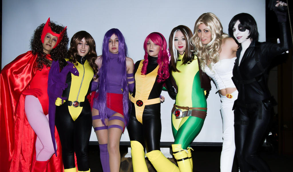 X-Men Team by Prometheacosplay