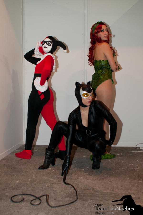 Gotham City Sirens 03 by Prometheacosplay