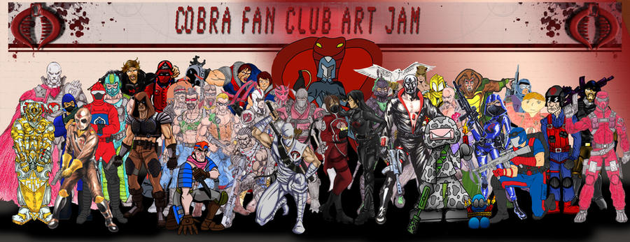Cobra Fan Club Art Jam by TheCobraCommander