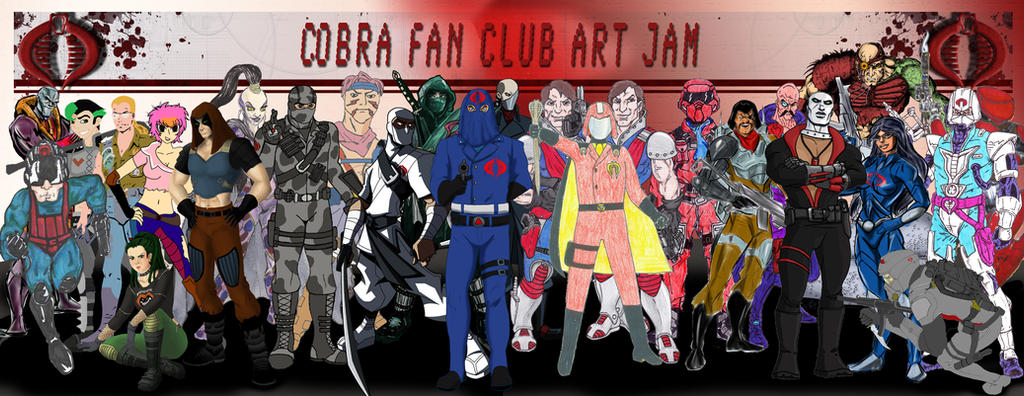Cobra Fan Club Art Jam 2013 by TheCobraCommander