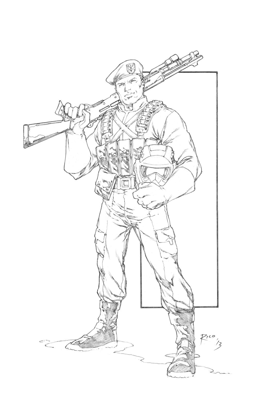 Eco force flint by pencilsandstrings on deviantart for Gi joe coloring pages