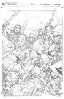 Zenescope Red Agent 4 Cover by pencilsandstrings