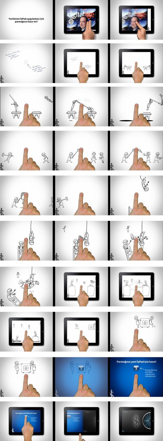 is bank-Ipad ispad Interactive Ad by alperdurmaz