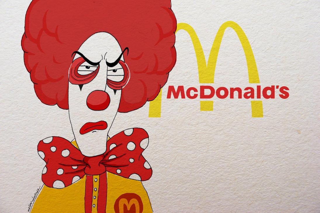 Mc Donald's Character by alperdurmaz