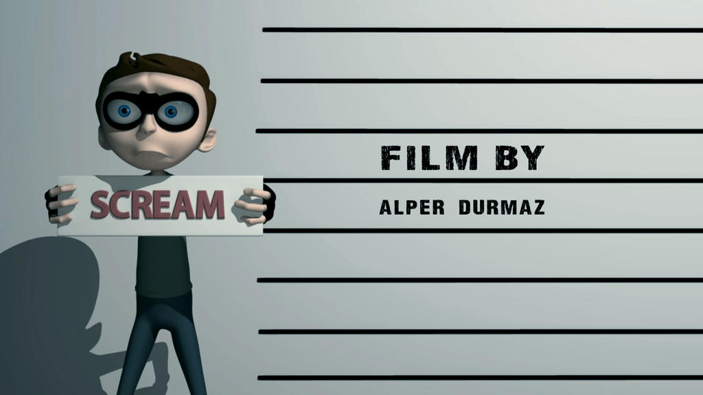 SCREAM short animation-Director by alperdurmaz