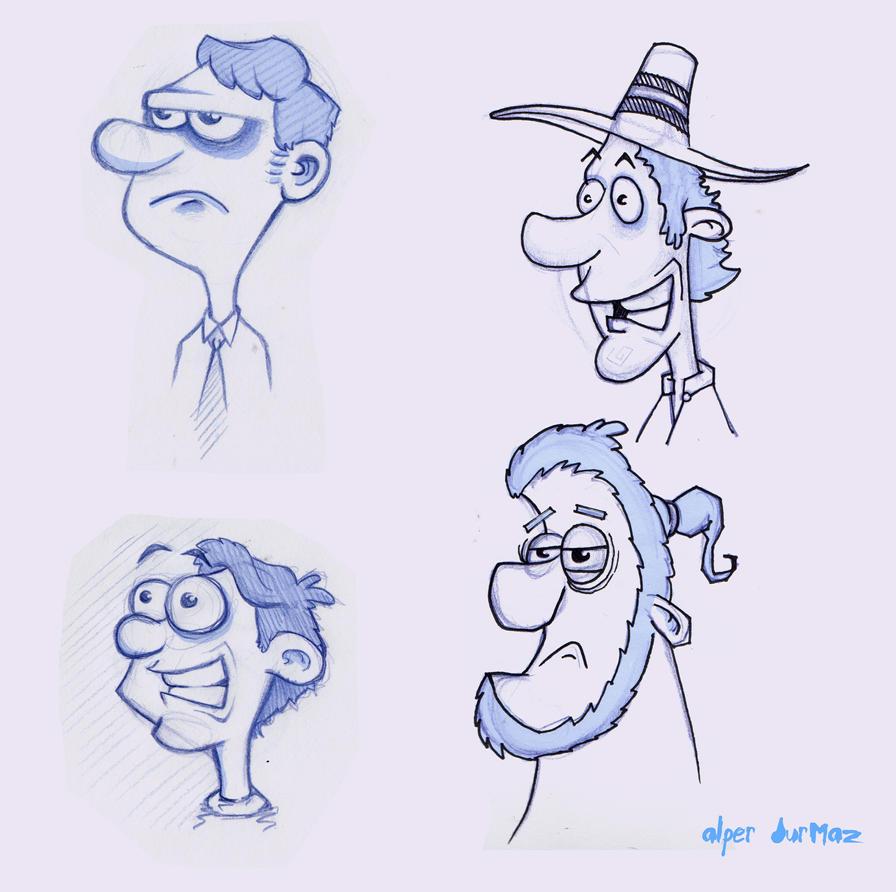 character sketch by alperdurmaz