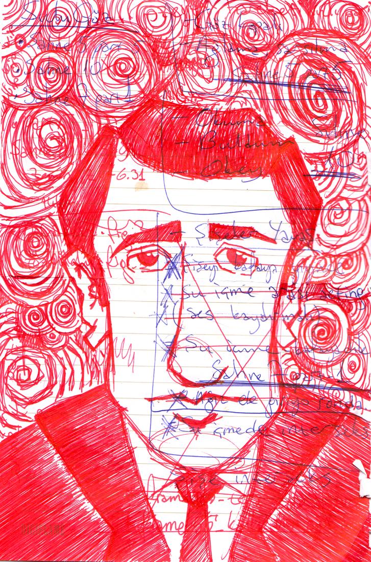Orhan Veli sketch-2 by alperdurmaz