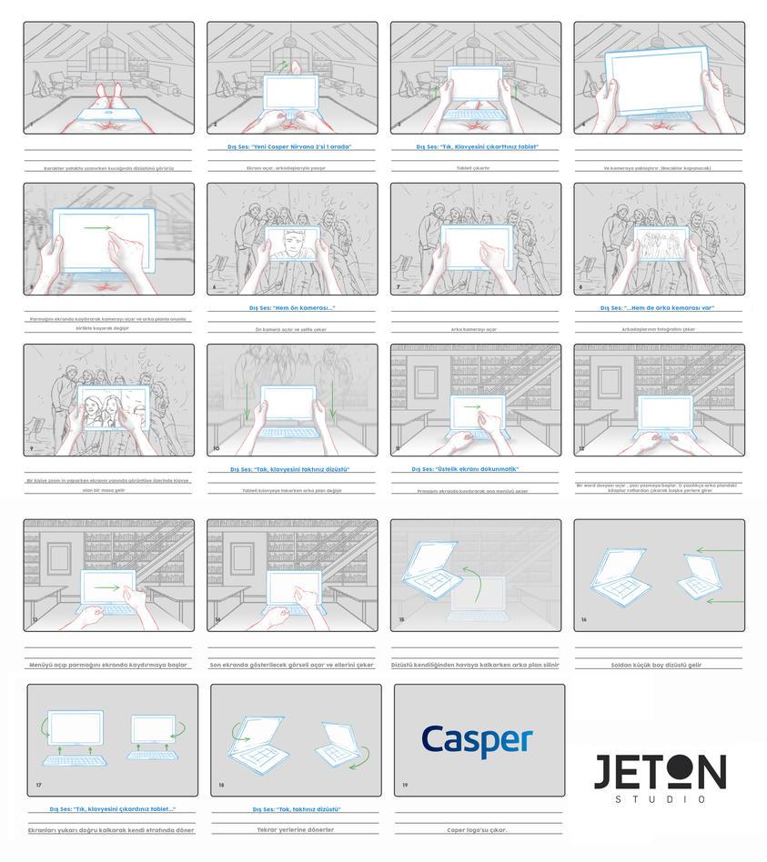 CASPER  STORYBOARD by alperdurmaz