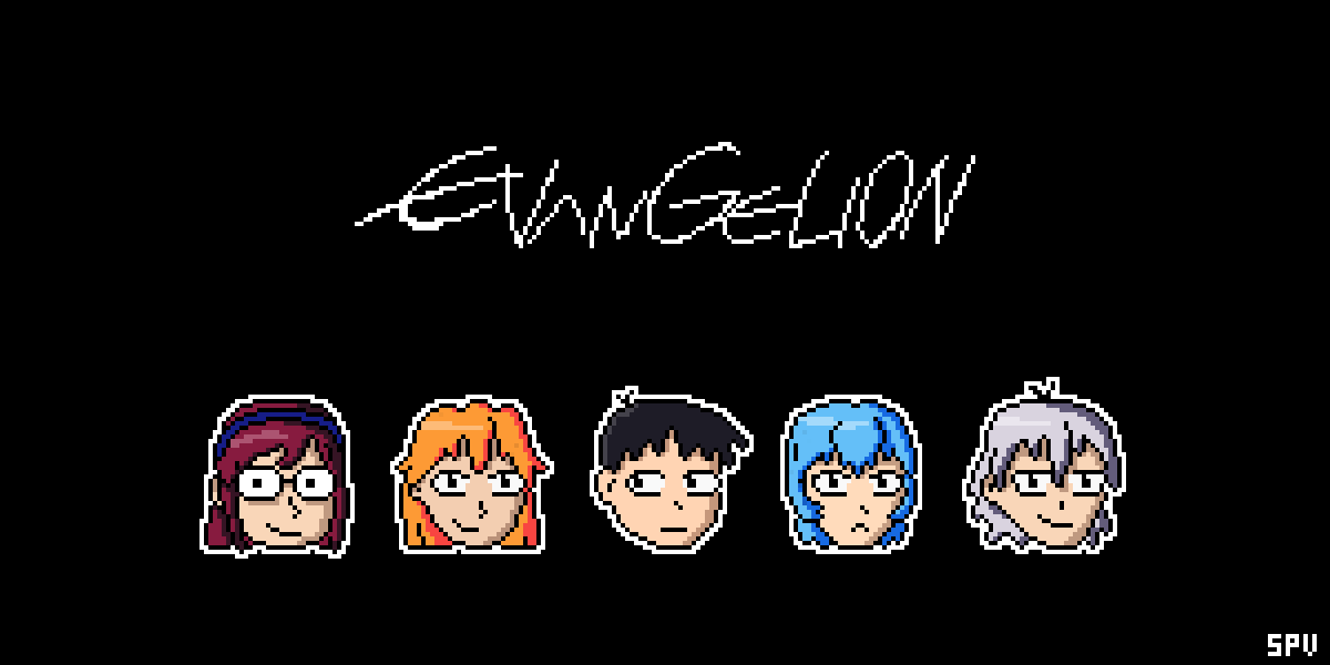 Evangelion 8Bits by Kotaro-world