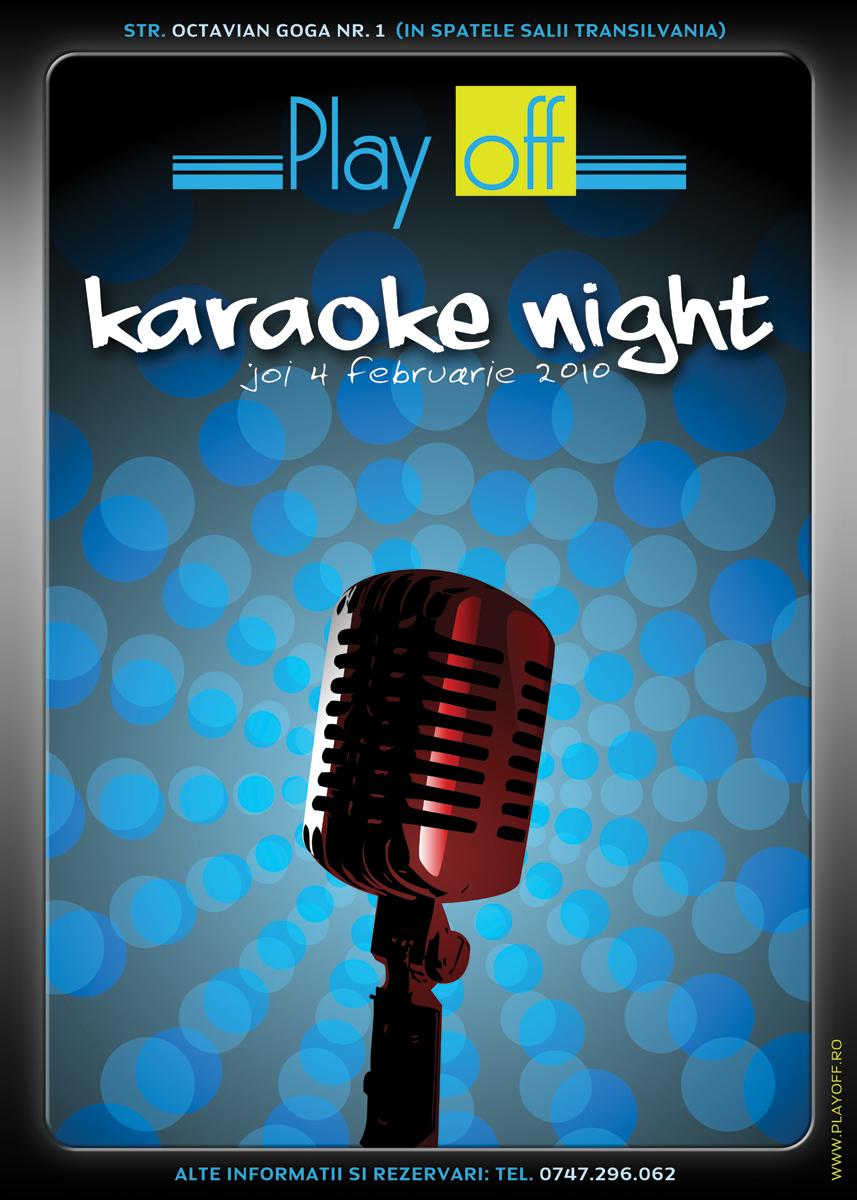 Karaoke Night ad by Tibikel on DeviantArt