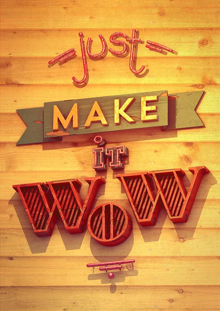 Just make it wow by franz--franz