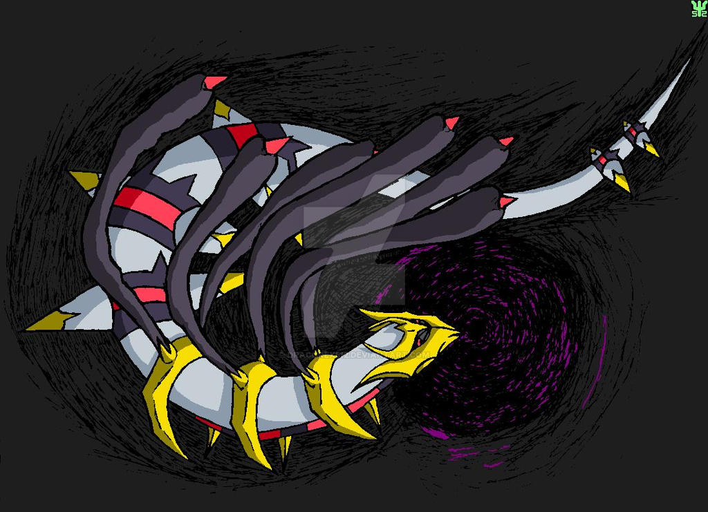 Giratina Origin Forme by Dracorex512 on DeviantArt
