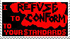 Anti-Conformity Stamp by Dracorex512