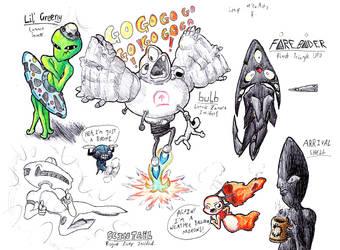Human UFOs by TitaniumGrunt7