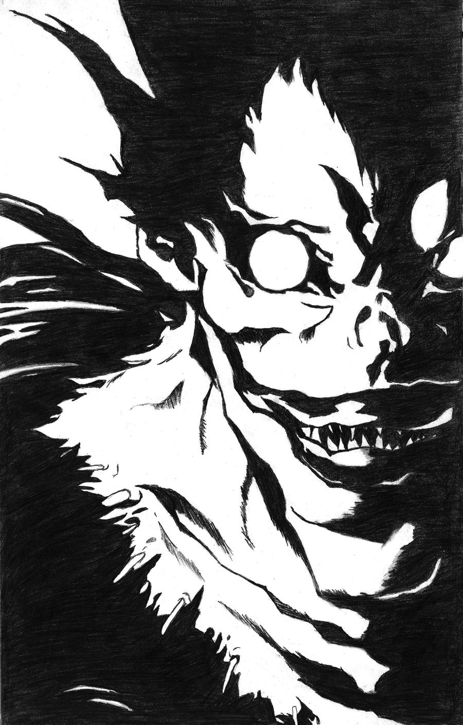 (Anime) Death Note: Ryuk Ver.2 by luizmx on DeviantArt