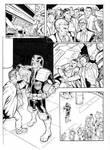 Judge Dredd page 1 inked