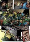 Judge Dredd page colored