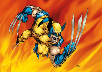 Wolverine -V2 reinked +colored by GibsonQuarter27