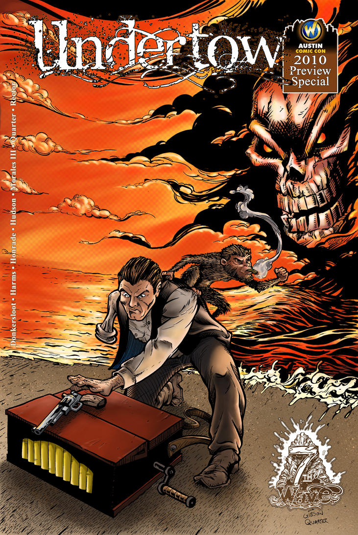 Undertow issue 1 'Ashcan cover by GibsonQuarter27