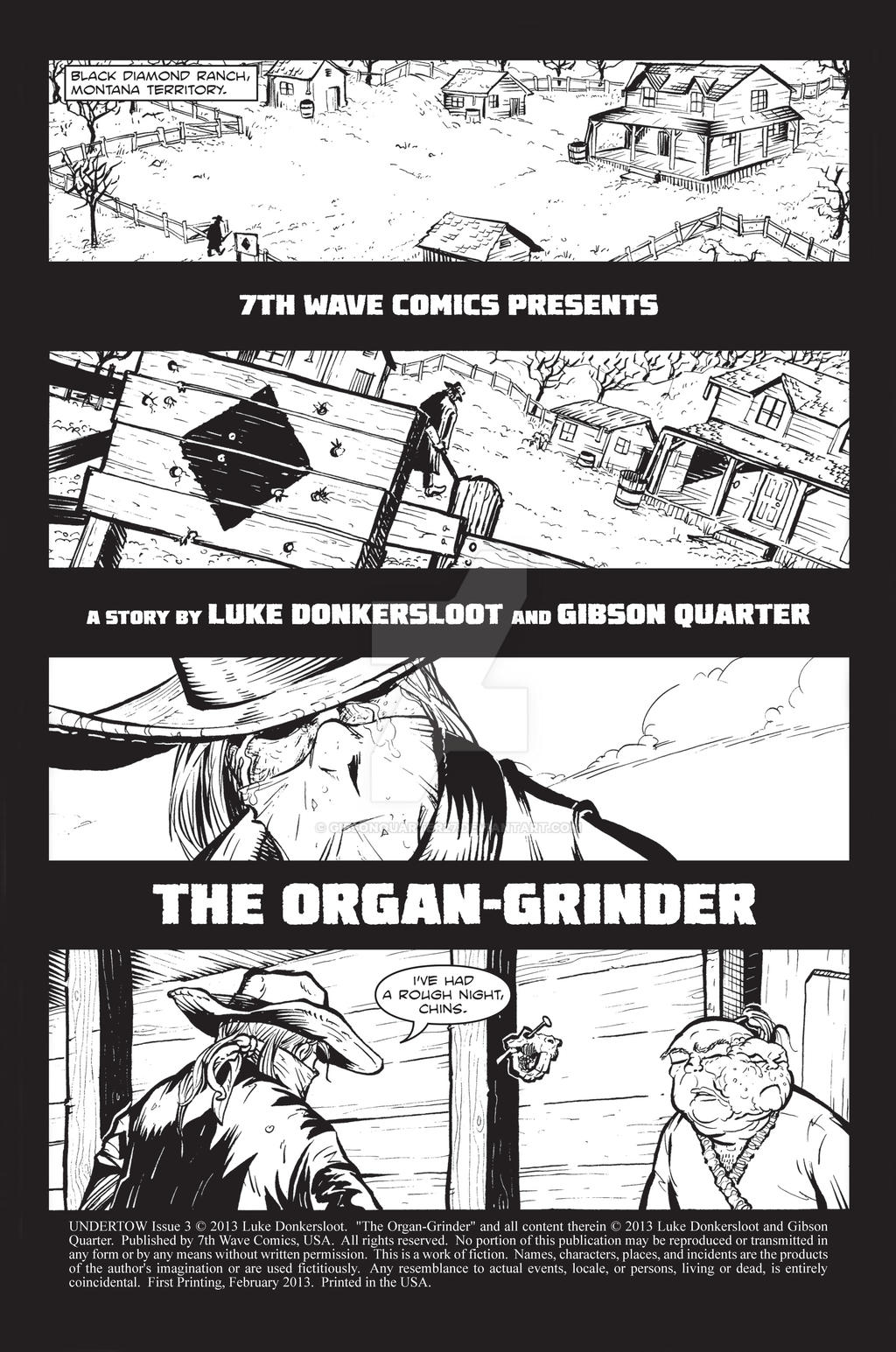 Organ Grinder page 1 -Undertow #3 by GibsonQuarter27